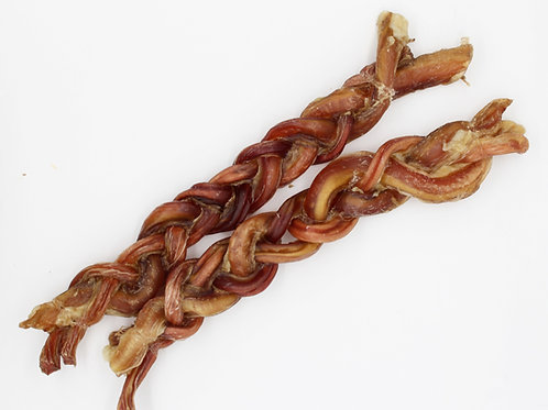 Braided Veal Pizzle