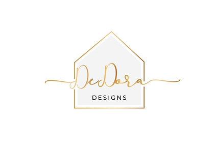 DeDora Designs Logo white background.jpe