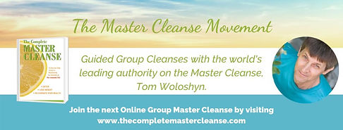 The Complete Master Cleanse Movement log