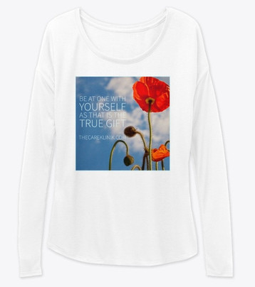 T-Shirt - Be at one with yourself.jpg