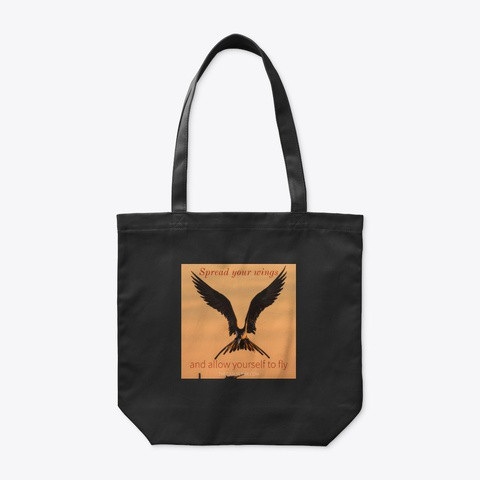 Tote bag - spread your wings and allow Y