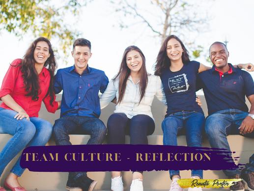 Team Culture - Reflection