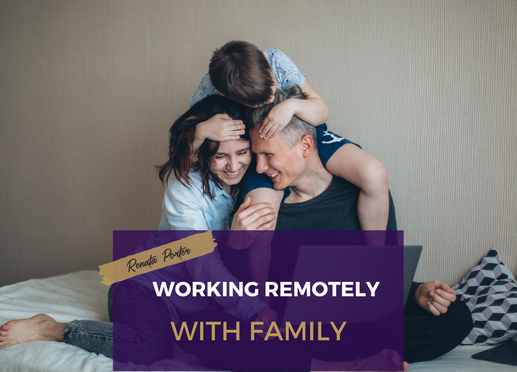 Working remotely with family