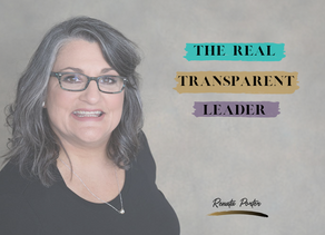 The Real Transparent Leader
