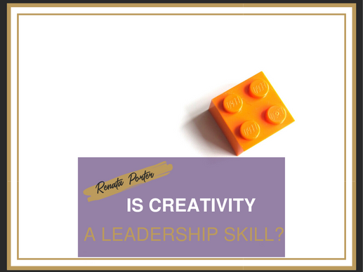 Is creativity a leadership skill?