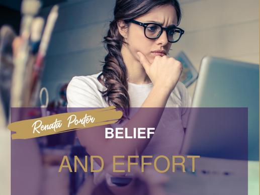 Belief and Effort