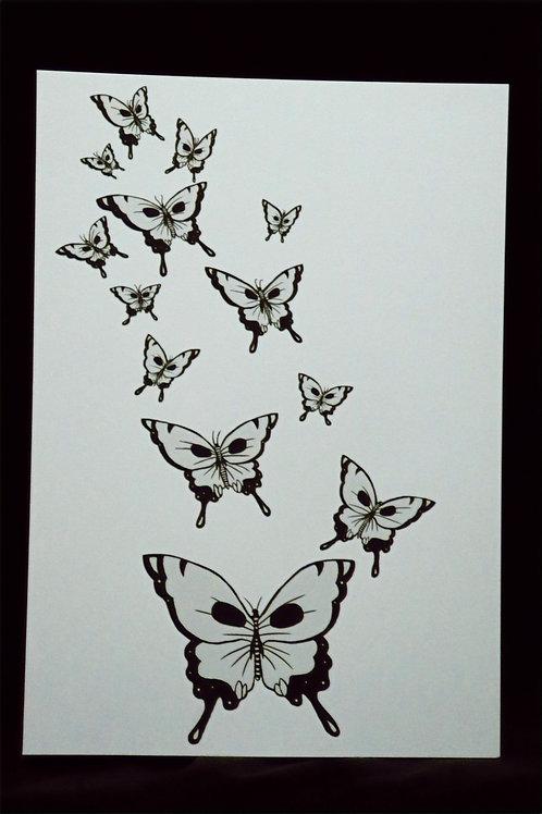 Butterflies of Death (print)