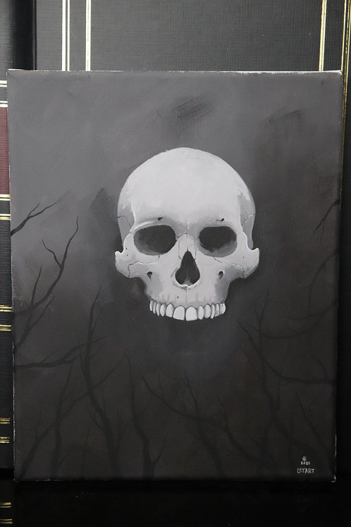 Skull in the Abyss