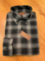 GRAY PLAID FLANNEL