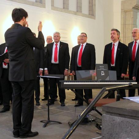 Ein Highlight des Chorgesangs das Kreis-Chorkonzert 2019 in der Florinskirche