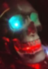 Skull Artist, Skull Pictures, teal blue skull, glowing skull, skull lights, skull airbrush art, skull artist, Automotive airbrush art, Airbrush artist near me, best airbrush artist in the united states, best pinstriper, contact airbrush artis, contact pinstriper near me