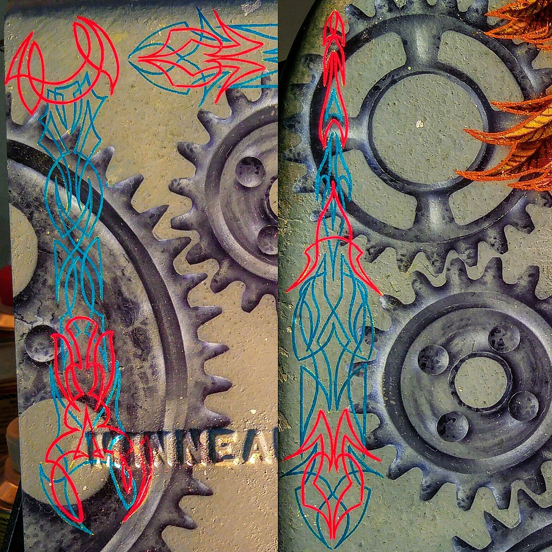 Custom Pinstriping!
