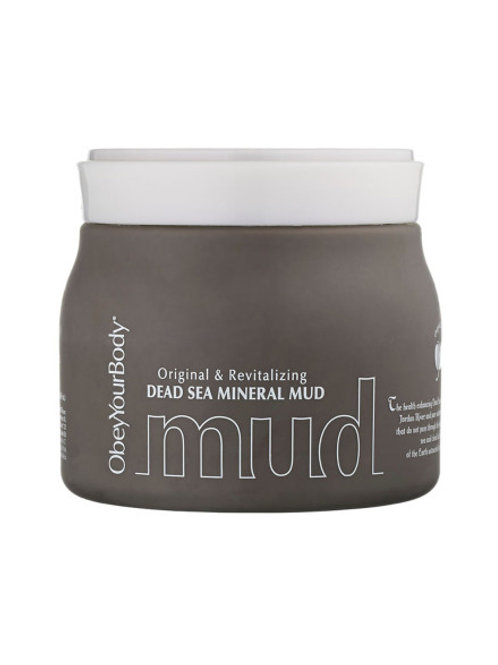 OBEY YOUR BODY 100% DEAD SEA MUD – JAR