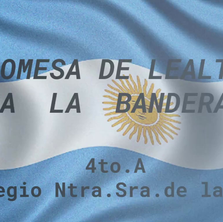 4to Grado - Promesa de Lealtad a la Bandera