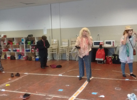 Secondary School - Drama Olympics. Our work after the Concert.
