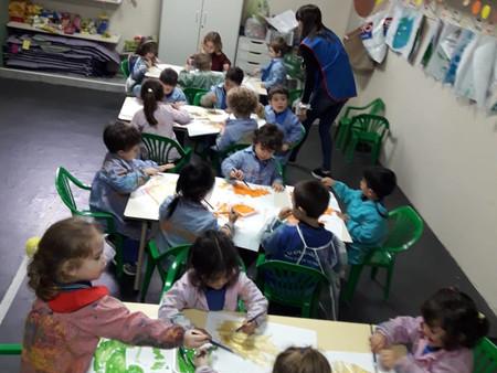 Arte en Sala de 3 - Jirafas