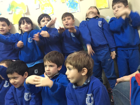 Fotos de los Superhéroes de la sala de 5 años