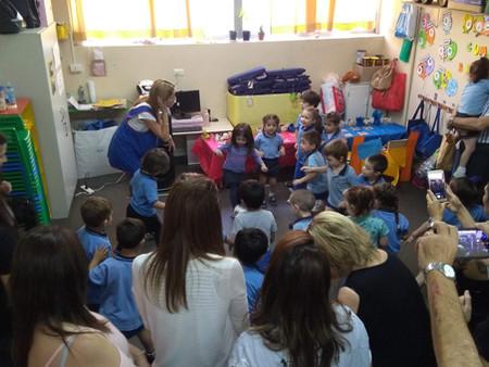 Compartimos con ustedes algunas fotos y videos de las clases abiertas de inglés de Jardín