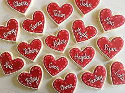 ❤️❤️❤️ #trophybaking #customcookies #icedcookies #pdxcookies #portland