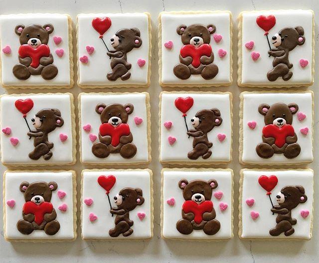 Bear hugs #trophybaking #customcookies #icedcookies #pdxcookies #portland