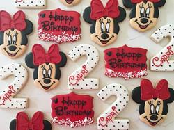 Happy Birthday Capri 😍 _#trophybaking #customcookies #icedcookies #pdxcookies #portland #minniemous
