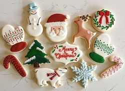 Christmas cookies now available for local delivery.  Email for orders 🎅🎄❄️ trophybaking_gmail