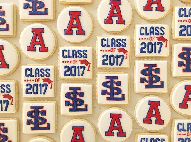 Congratulations grads!! #trophybaking #customcookies #icedcookies #pdxcookies #portland #lasalleprep