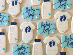 💙💙💙_#trophybaking #customcookies #icedcookies #pdxcookies #portland #babyshower