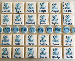 For the very talented Pacer Dance Team, good luck at state!  #trophybaking #customcookies #lakeridge