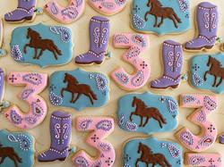 Horsey party 🐎🐎🐎 #trophybaking #cumstomcookies #icedcookies #portland