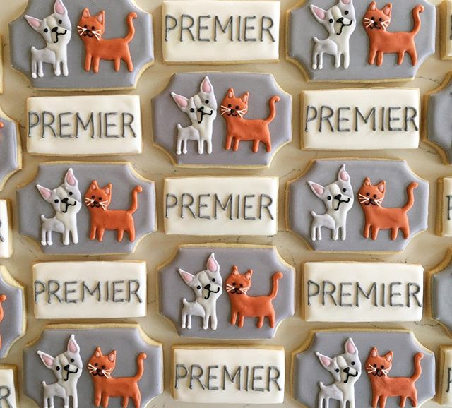 Thank you Premier Press for this cute order #trophybaking #customcookies #icedcookies #portland _pre