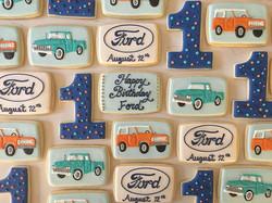 Happy Birthday Ford!! #trophybaking #customcookies #icedcookies #pdxcookies #portland #fordbronco #f