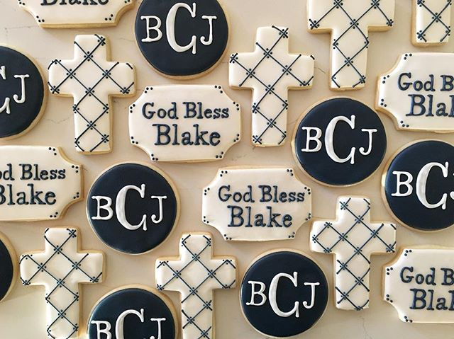 God bless Blake #trophybaking #customcookies #firstcommunion #portland #pdxcookies _citymama13