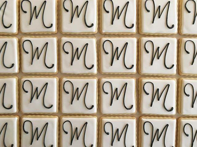 M is for Maison #trophybaking #cumstomcookies #icedcookies #portland _maisoninc