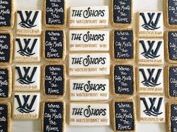 Lots of logos!  Thank you Waterfront Vancouver 😊 #trophybaking #icedcookies #customcookies #logocoo