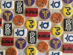 Swoosh🏀🏀🏀 #trophybaking #customcookies #icedcookies #portland #nike _nikebasketball #nikebasketba