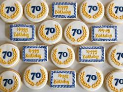 Opa! 🇬🇷🇬🇷🇬🇷 #trophybaking #customcookies #icedcookies #portland