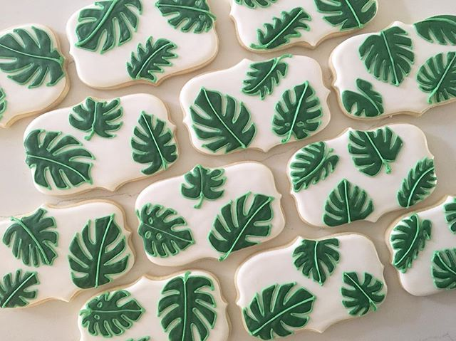 🌿🍃🌿🍃🌿_#trophybaking #customcookies #icedcookies #pdxcookies #portland