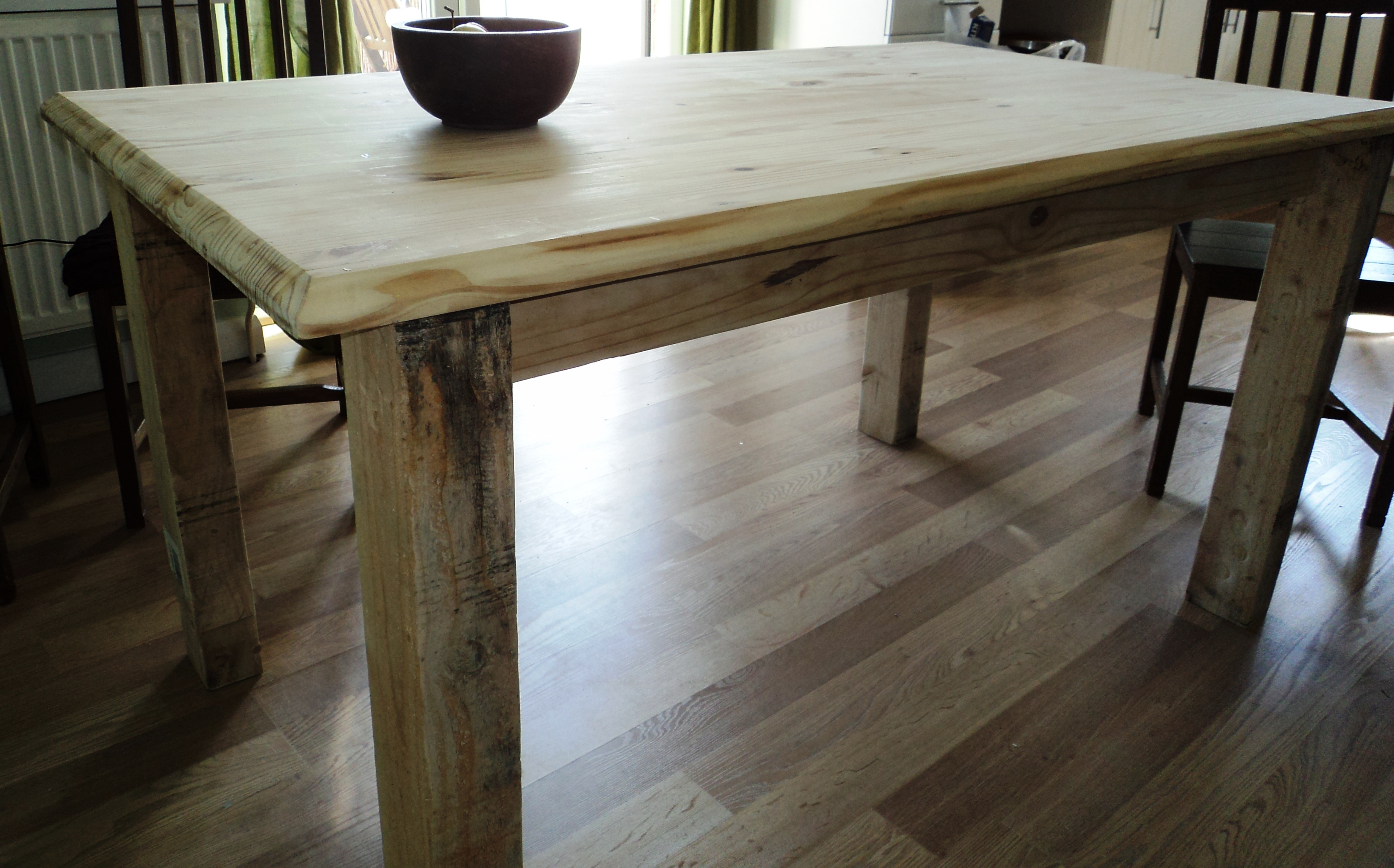 Reclaimed Solid Wood Table