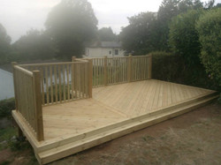Decking (Angle Boarding)