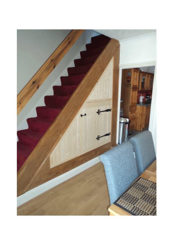 Under Stairs Bepoke Cupboard