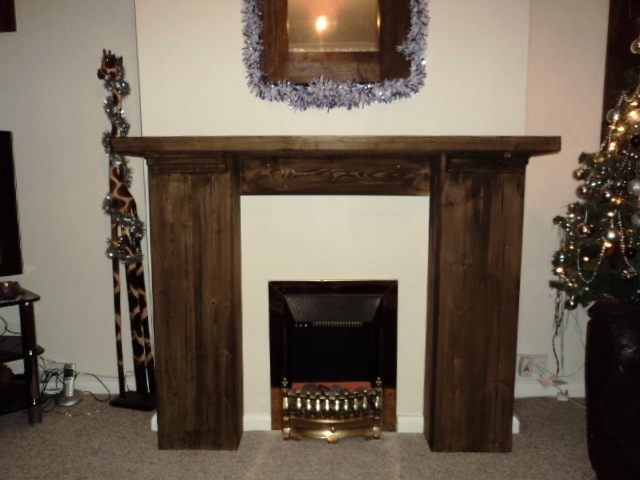 Bespoke Made Fire Place