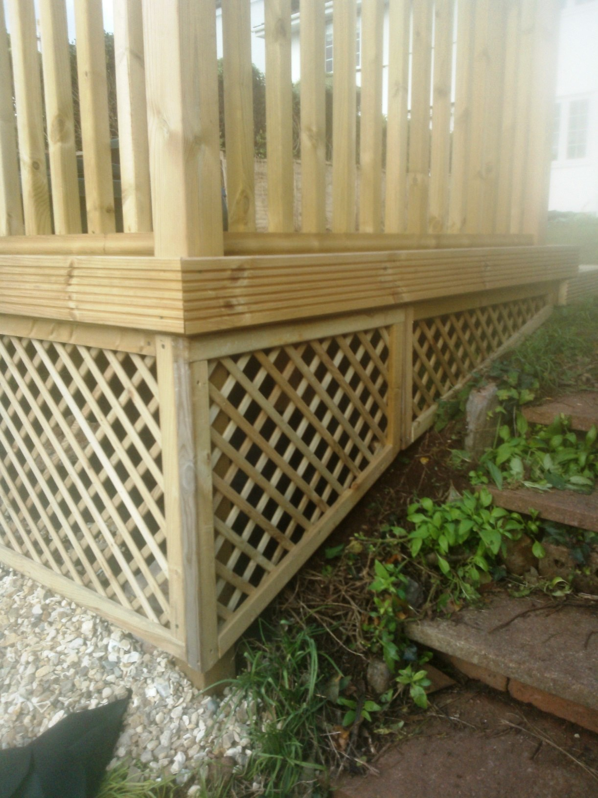 Bespoke Made Trellis Panels.
