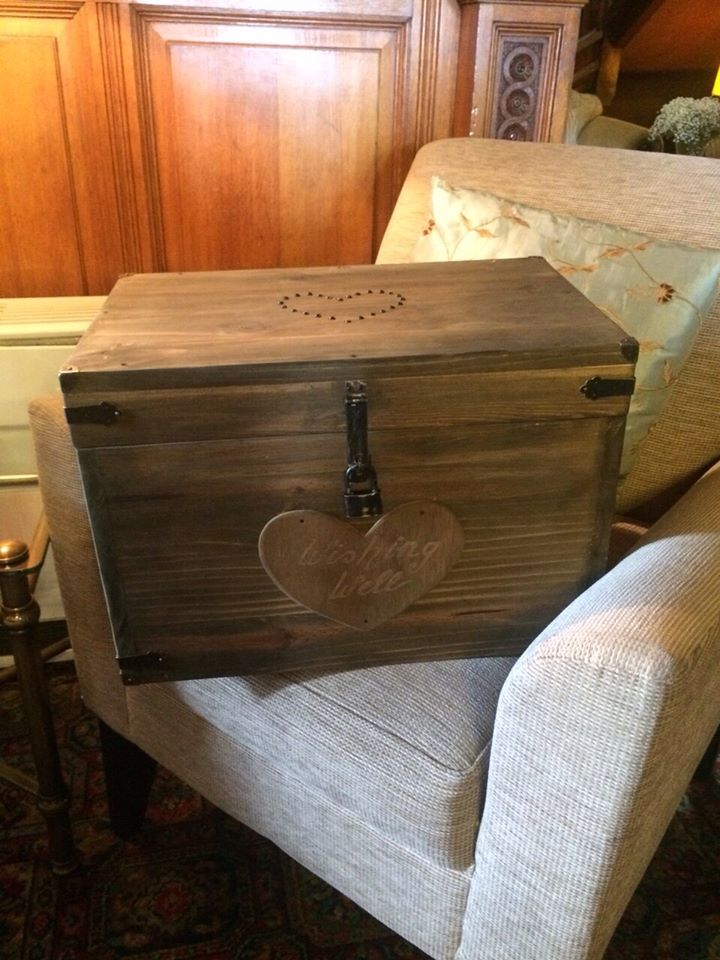 Wedding Wishing Well Chest