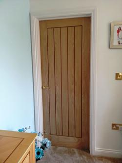 Single Solid Oak Door