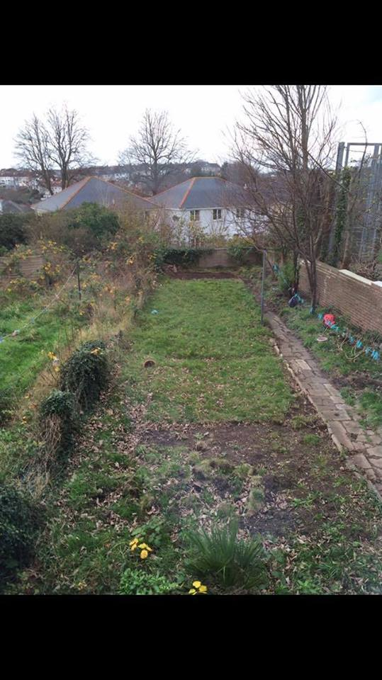 Full Garden Makeover (Before Works)