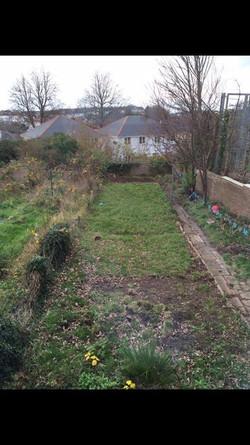 Full Garden Makeover (Before Works)