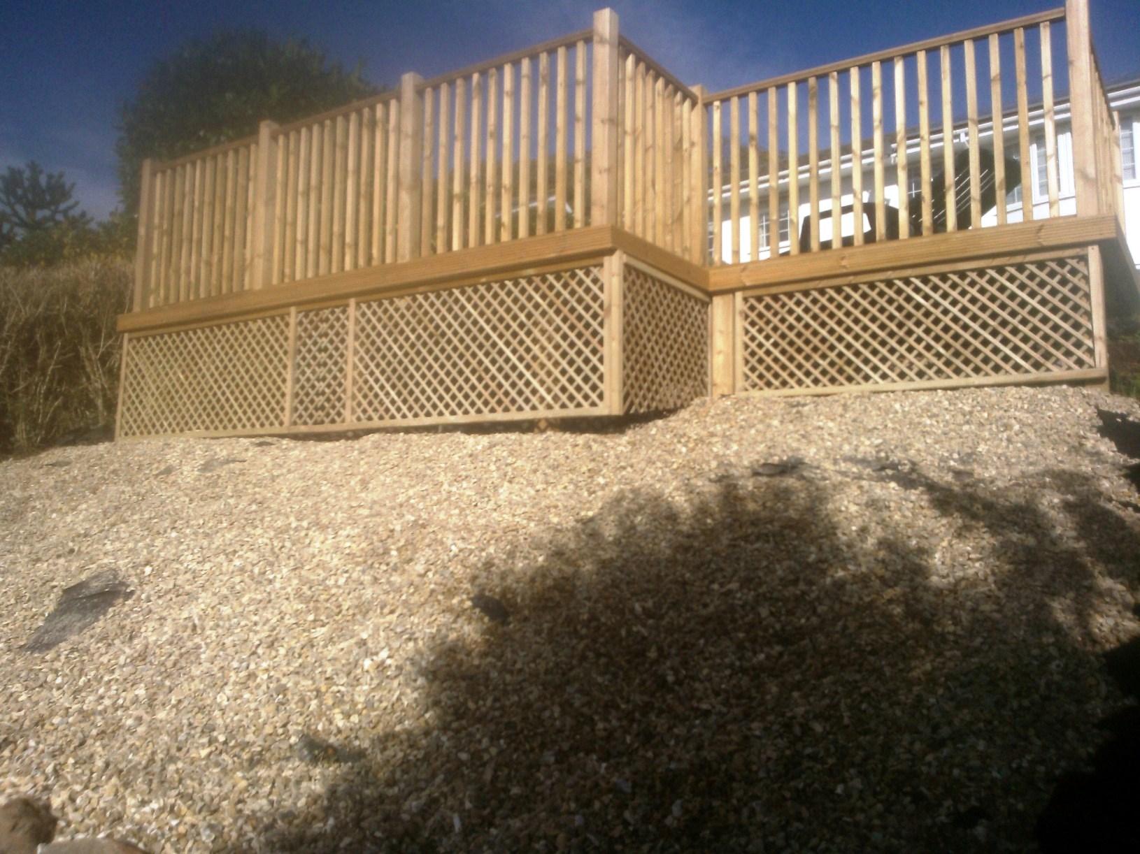 Decking & Trellis Panel