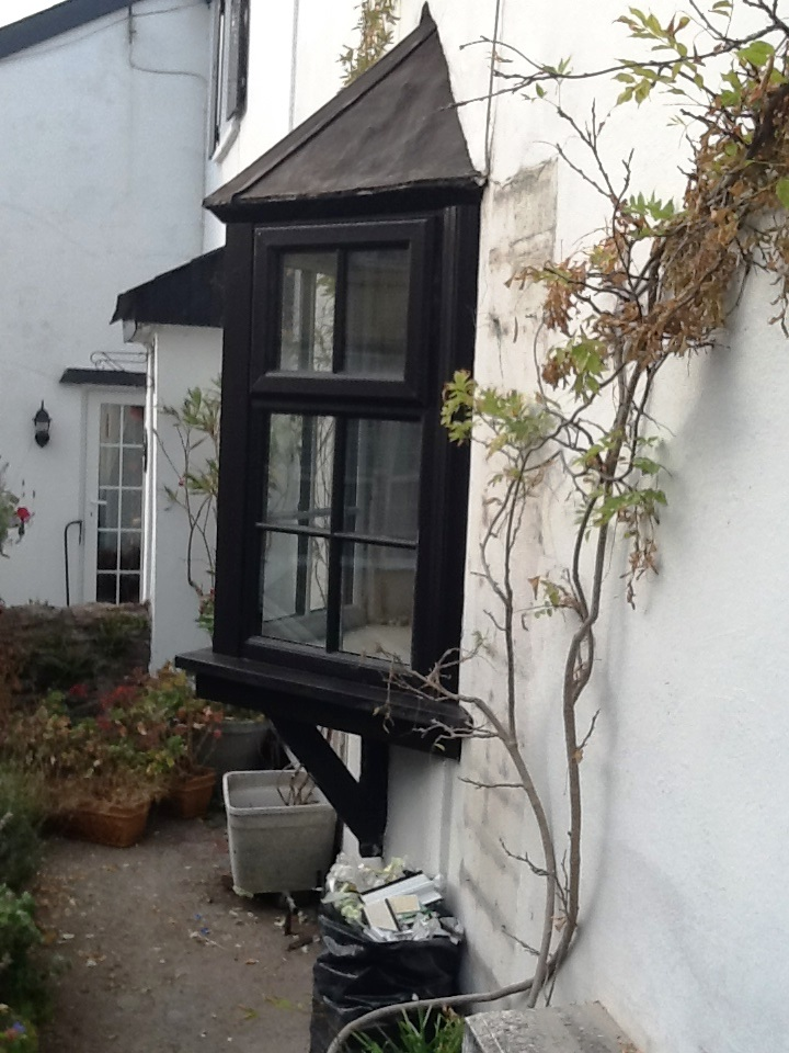 Black Pvc Bay Window