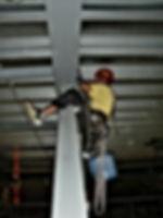 Industriekletterer der DiBaB GmbH die Bergsteiger am Bau